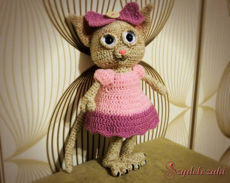 Crochet MIss Kitty :)