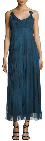 Elie Tahari Opal Sleeveless Maxi Dress, Denim