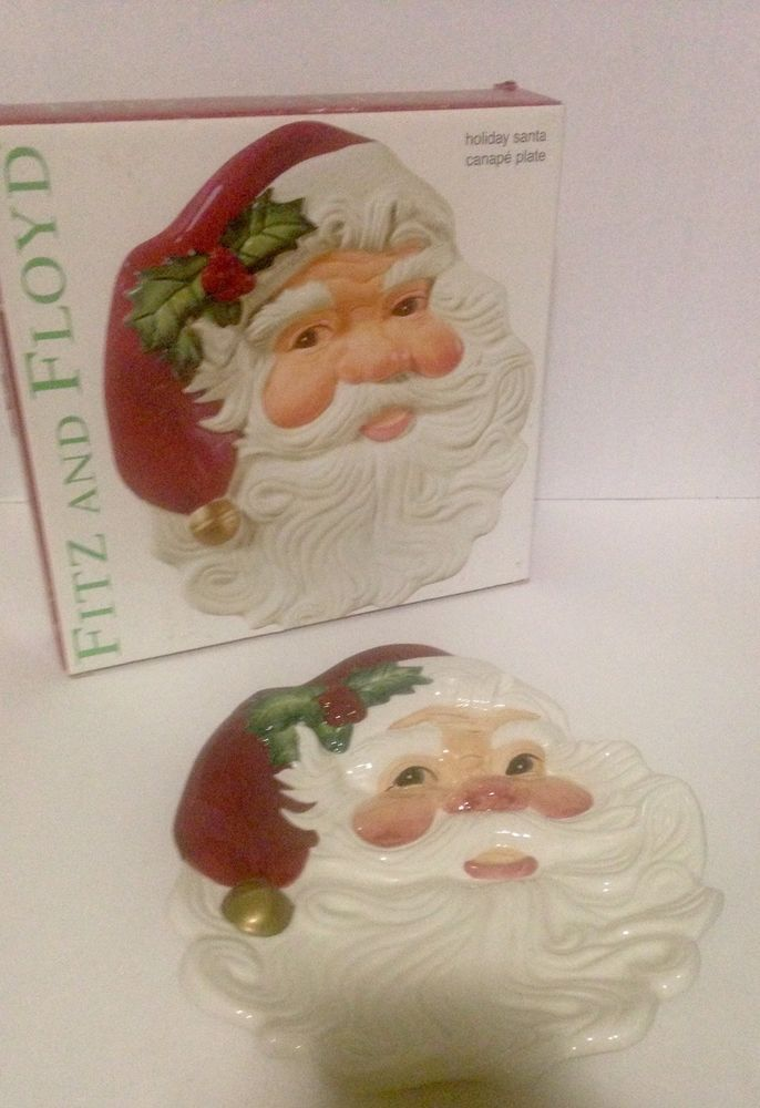345 best images about christmas time on pinterest for Fitz and floyd canape plate