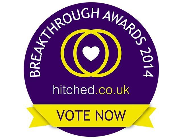 Voting for the hitched.co.uk Breakthrough Awards 2014 is OPEN!