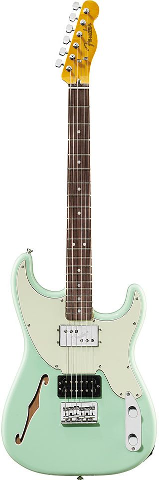 #Fender - I VERY SERIOUSLY WANT ONE OF THESE.... Love the Tele Headstock.