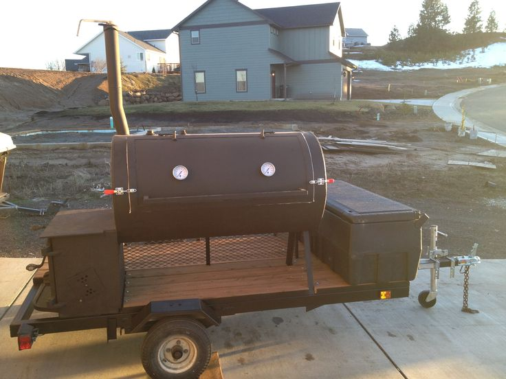 17 Best Ideas About Bbq Smoker Trailer On Pinterest - Www