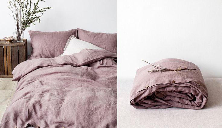 Woonvondst: extra zacht linnen dekbed