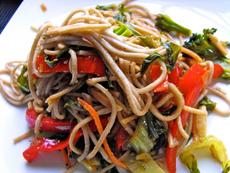 Vegetarian soba stir fry - gonna try this tonight!