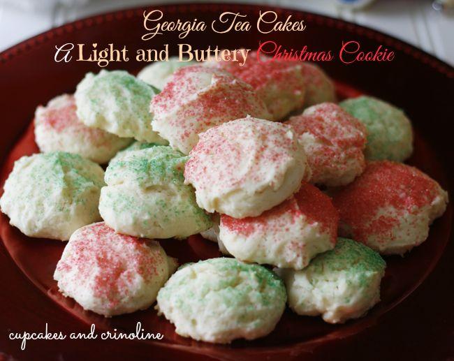 Georgia Tea Cakes|Cookies|Christmas Cookies