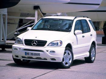 WALD Mercedes-Benz ML 270 CDI (W163) '2001–05