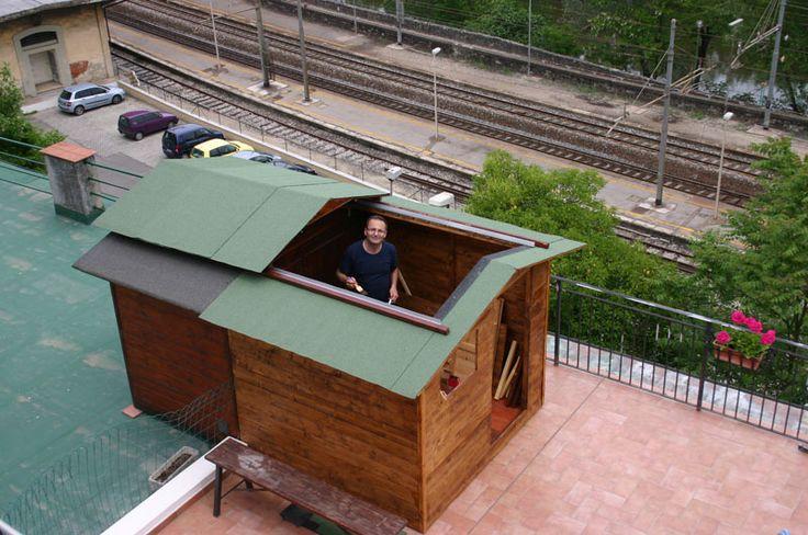 Slide Roof Observatory Home Observatory Pinterest