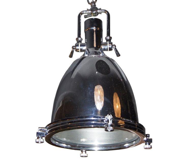 Lampe suspendue en métal