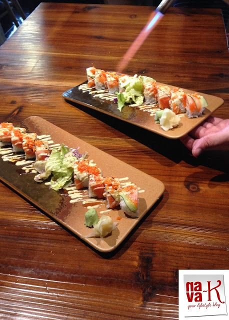 Hana Dining & Sake Bar (Sunway Pyramid Mall - Bandar Sunway) - superb Japanese fusion dishes.