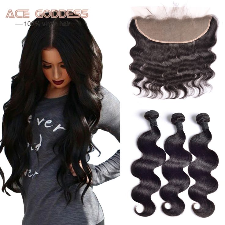 Hair Weft Closure ( Bang) Brazilian Body Wave With Closure,13x4 Ear To Ear Lace Frontal Closure With Bundles,Brazilian Virgin Hair With Closure Human Hair ** AliExpress Affiliate's Pin. Click the VISIT button to view the details