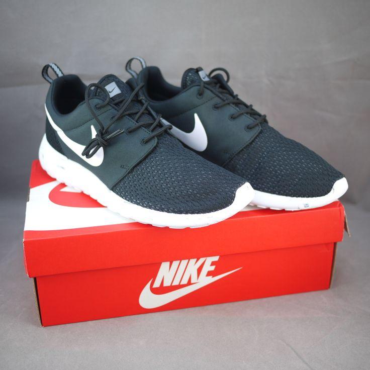 Nike Roshe Run Men 669985-001 Black / White-Cool Grey-Anthracite
