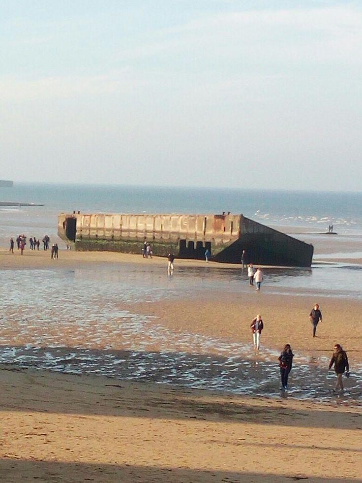 Spiaggia Normandia Omaha beach