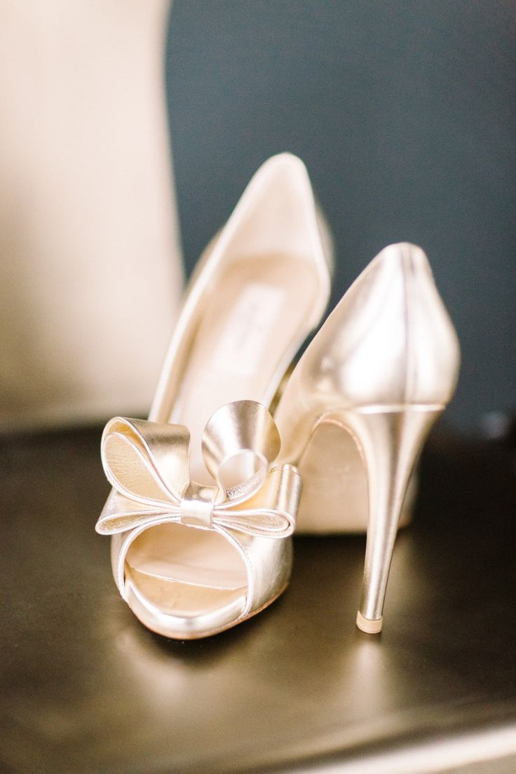 Neutral Shoes That Pair Pretty With Any Wedding Dress