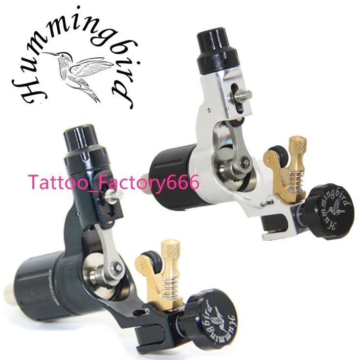242.25$  Watch here - http://aimhv.worlditems.win/all/product.php?id=32579606721 - Pro 2 pcs Black&Silver Hummingbird V2 Original Swiss Motor Rotary Tattoo Machine Gun kit liner shader for cord