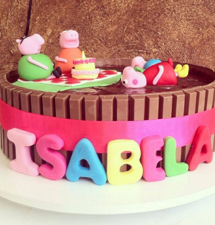 17 Best images about PEPPA on Pinterest | Rich chocolate cakes, George pig and Green cake