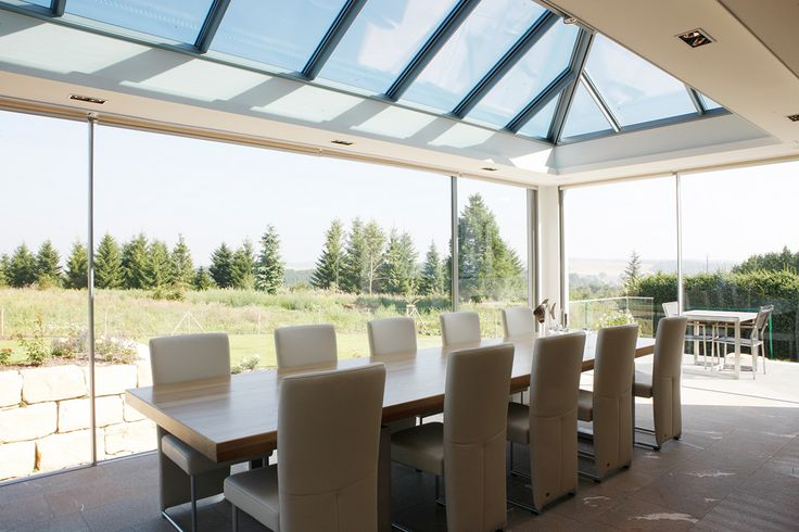 KELLER Glasshouse with maximum view