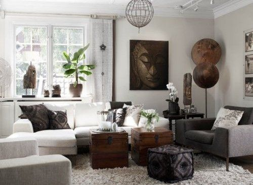 17 meilleures id es propos de salons africains sur pinterest int rieur de l 39 afrique d cor for Deco chambre style africain
