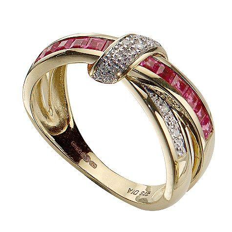 72 best Ruby & Diamond Rings images on Pinterest