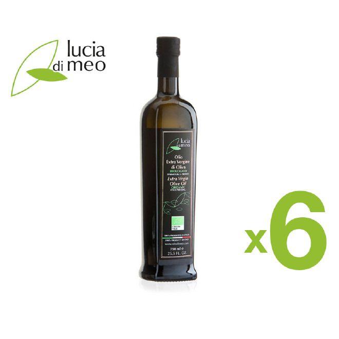 N.6 Bottiglie da 750 ml di Olio Extra Vergine d'Oliva BIOLOGICO