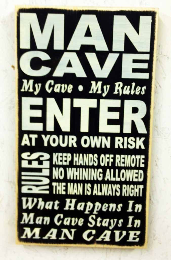 Man Cave Door Sign : Man cave sign caves mom and messages