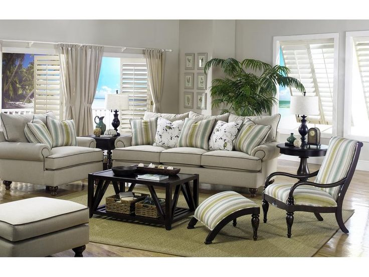 Paula Deen By Craftmaster Living Room Three Cushion Sofa P711750BD    CraftMaster   Hiddenite, NC
