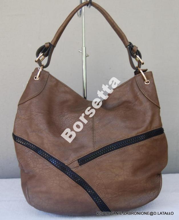 Torebka Worek Bombka Z Suwakami Listonoszka Mud 4309316622 Oficjalne Archiwum Allegro Duffle Bags Duffle Bag