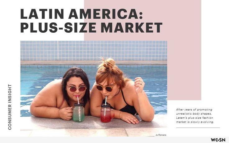 Een artikel in eigen bezit over plus size in Latin Amerika. Het is pas sinds kort dat hier een markt voor is.