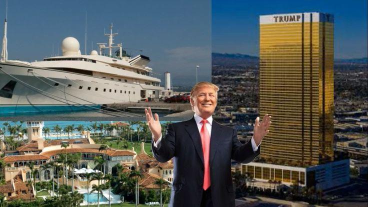 Donald Trump life  🌟 || Biography , Life of Donald Trump House * Plane  ...