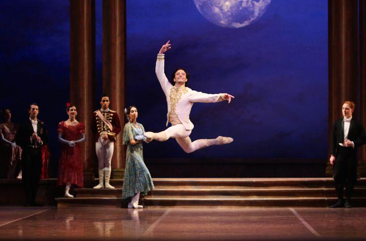 Matthew Lehmann and Dancers of West Australian Ballet in Cinderella. Photo by Emma Fishwick