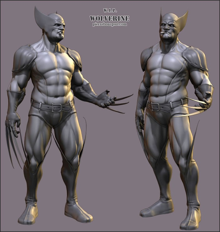 Zbrush Gallery Related Keywords & Suggestions - Zbrush