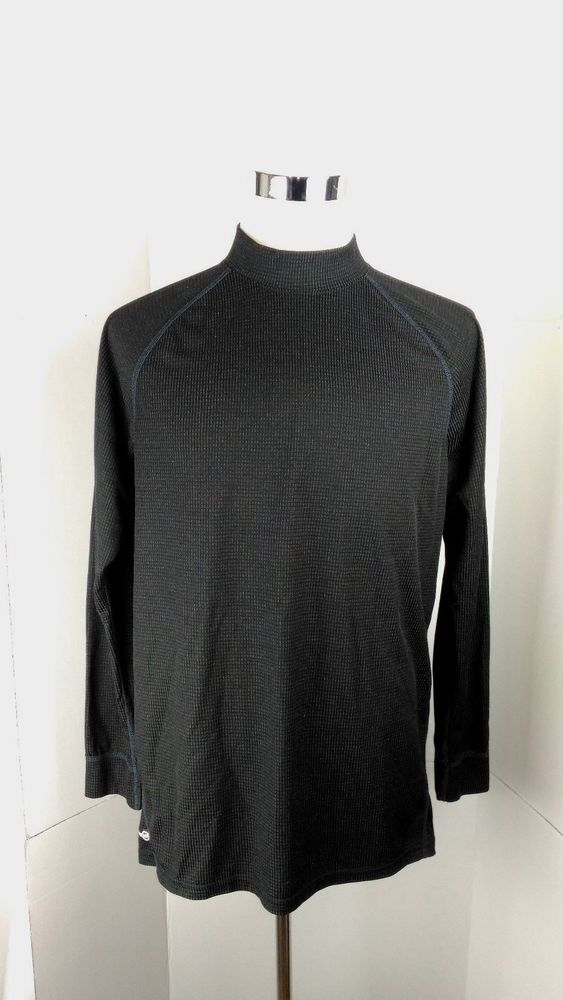 532ef7c8 Russell Dri Power 360 Men's XL Black Long Sleeve Athletic Shirt A04-13  #RussellAthletic #ShirtsTops
