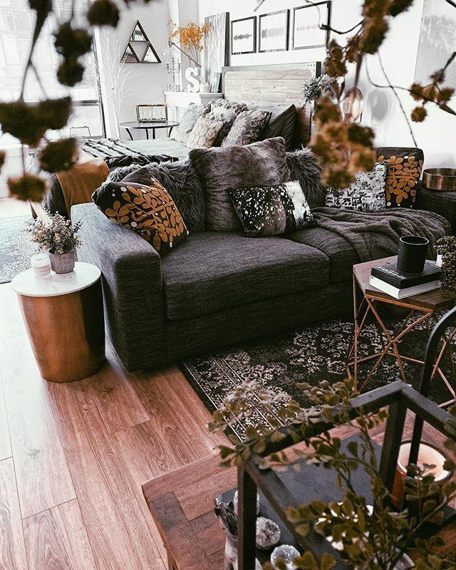 41 Comfy Small Farmhouse Rustic Living Room Decorating Ideas Farm House Living Room Small Living Room Decor Living Room Decor Rustic