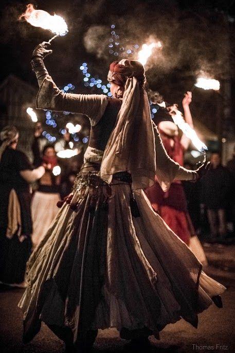 Noël à Provins -Animations nocturnes sur le marché médiéval - Photo Thomas Fritz