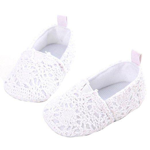 Iuhan® New Baby Infant Kids Girl Soft Sole Crib Toddler Newborn Shoes (Age:0~6 Month, White)  https://www.amazon.com/gp/product/B01KOJ2KZE/ref=as_li_qf_sp_asin_il_tl?ie=UTF8&tag=rockaclothsto_toys-20&camp=1789&creative=9325&linkCode=as2&creativeASIN=B01KOJ2KZE&linkId=7fc18863ec327bc4d5a440cc7dee93de