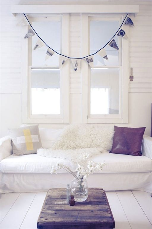 white and bright...why did I buy black leather couches? :(