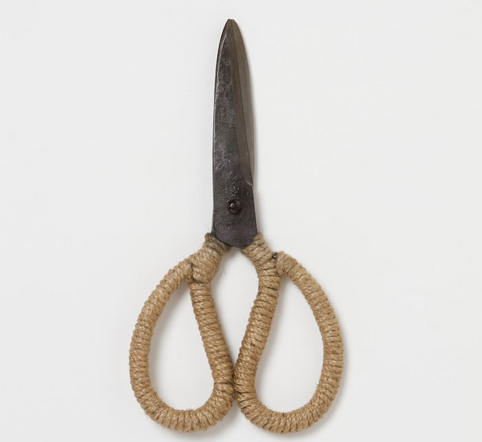Jute Wrapped Garden Scissors, Gardenista