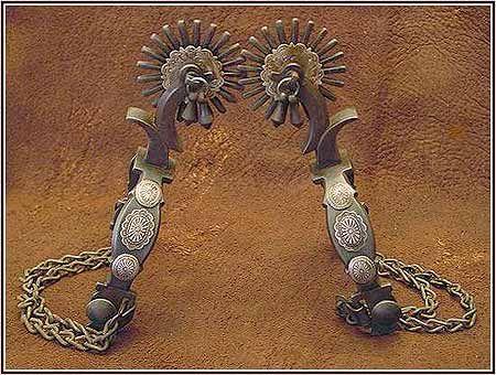 antique cowboy spurs