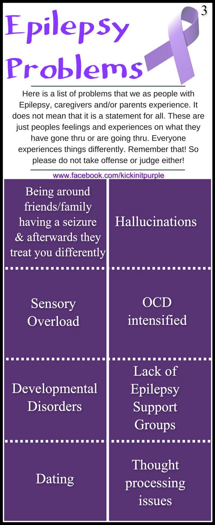 The gallery for --> Epilepsy Awareness Facts