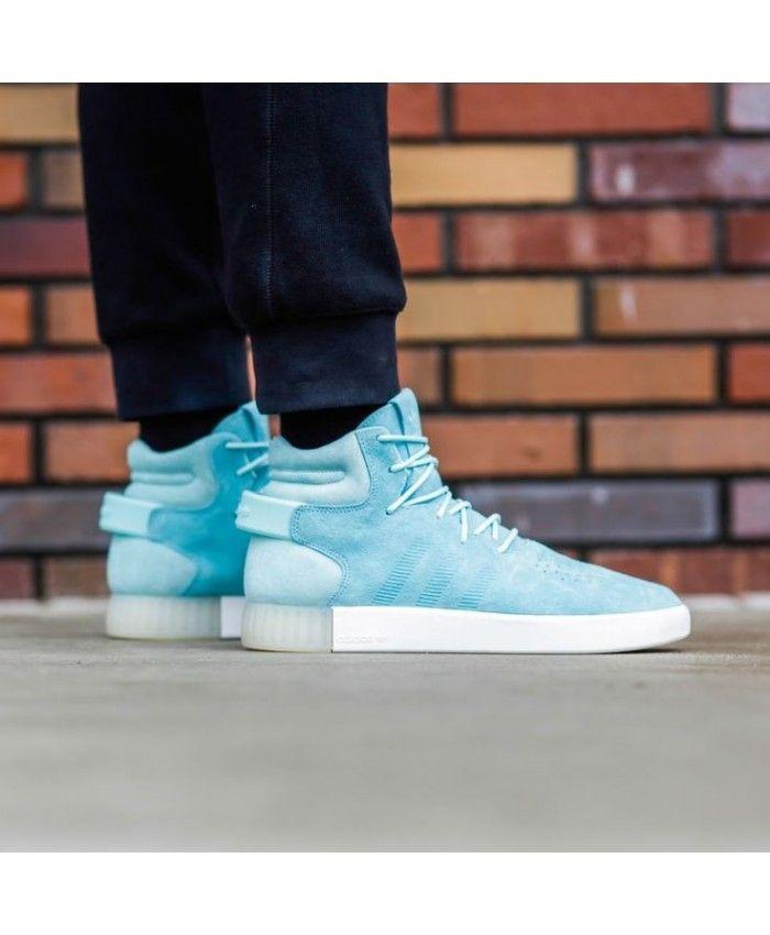 adidas Tubular Invader Strap shoes blue | WeAre Shop