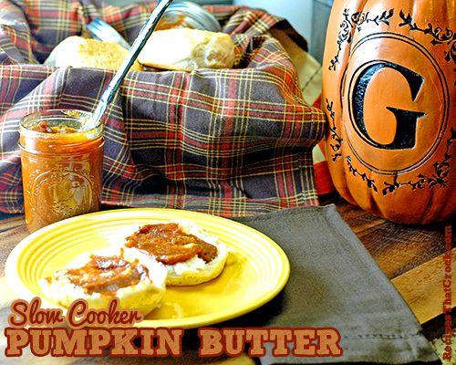Slow Cooker Pumpkin Butter - Recipes That Crock!