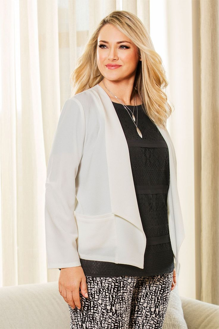 Sara Soft Drape Jacket - EziBuy New Zealand