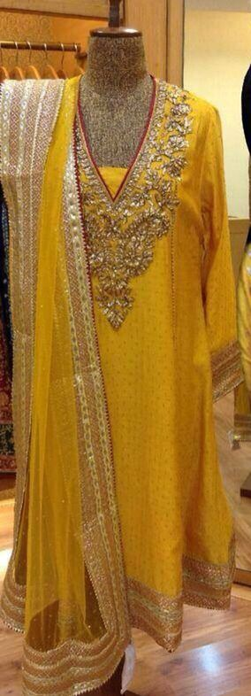 yellow kurti and dupatta scarf | желтая курти и шарф