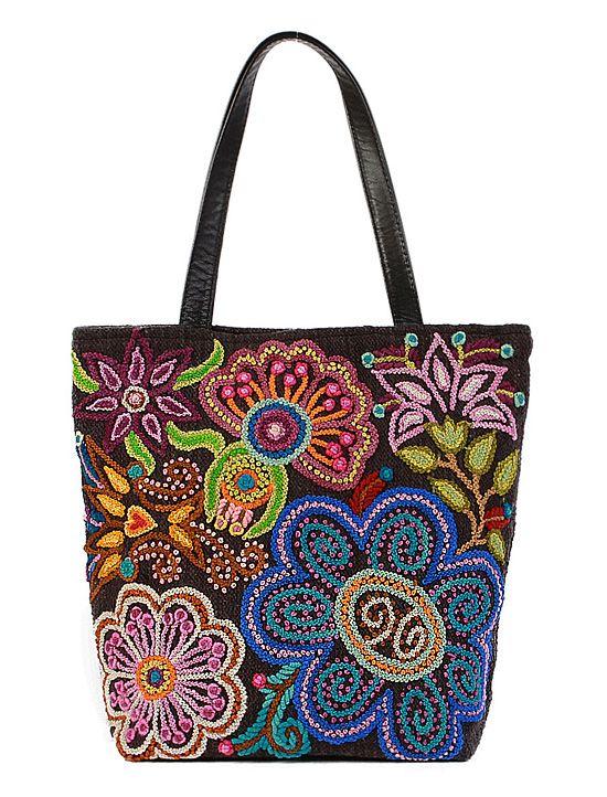 Peruvian hand-embroidered bag - amazing