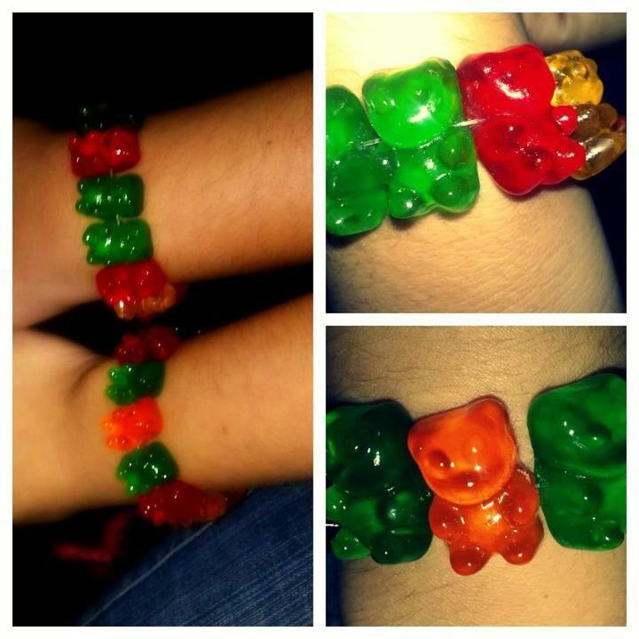 Pulseras de gomitas: Bears Candy, Diy Manualidades, Diy Fashion, Teddy Bears, Diy Teddy, Candy Animal