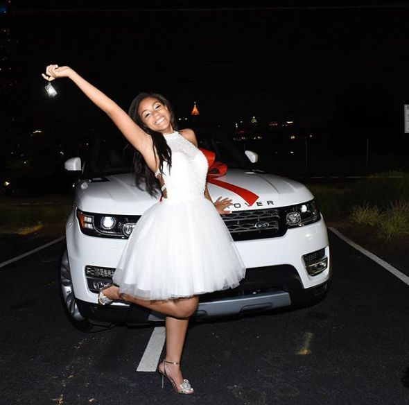Ludacris Gifts His Daugter A Range Rover For Her 16th