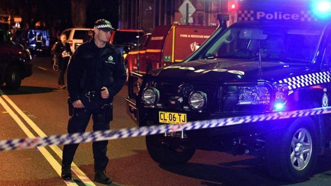 Planned bombed attack on plane in Australia