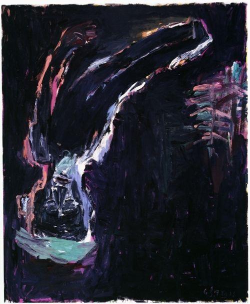 Georg Baselitz, Lamentação , 1983