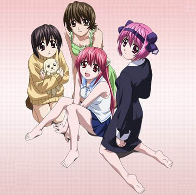 Elfen Lied #elfenlied it was a disturbing anime  at first but then I realized it was done well over time. It's not for everyone.