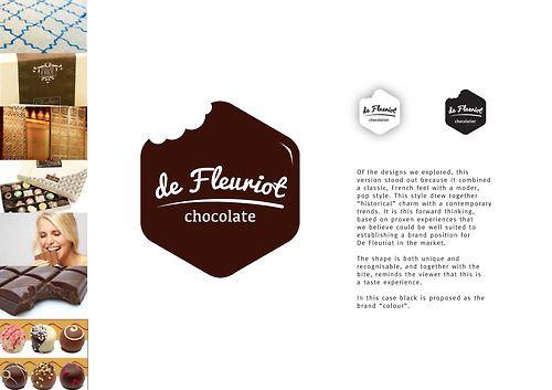 De Flueriot Chocolate #Branding #Identity #MaverickDesign