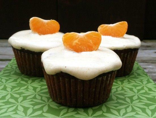 Orange Cream Cupcakes (Grain, Dairy, Nut Free)   @Primally Inspired